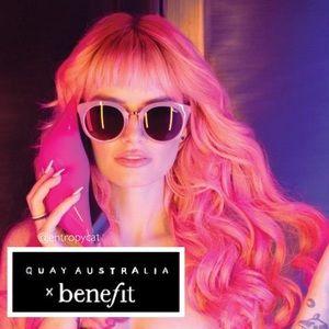 NWT Quay Australia x Benefit SHOOK Sunglasses